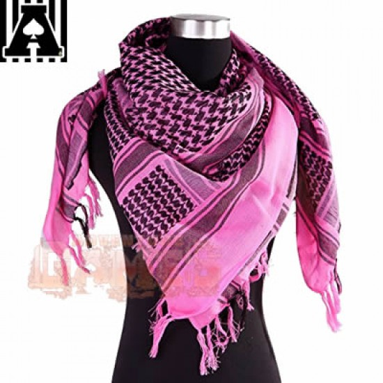 Shemagh Scarf  - Rosa